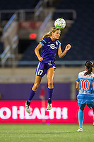 Orlando, FL - Saturday July 16, 2016: Dani Weatherholt during a regular season National Women's Soccer League (NWSL) match between the Orlando Pride and the Chicago Red Stars at Camping World Stadium.