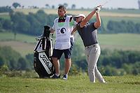 Gian-Marco Petrozzi (ENG) in action during the second round of the Hauts de France-Pas de Calais Golf Open, Aa Saint-Omer GC, Saint- Omer, France. 14/06/2019<br /> Picture: Golffile | Phil Inglis<br /> <br /> <br /> All photo usage must carry mandatory copyright credit (© Golffile | Phil Inglis)