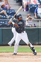 Corey Simpson (36) of the Everett Aquasox at bat during a game against the Hillsboro Hops at Everett Memorial Stadium in Everett, Washington on July 5, 2015.  Hillsboro defeated Everett 11-4. (Ronnie Allen/Four Seam Images)