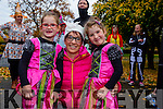 Enjoying Tralee's Run in the Park Halloween 5km fancy dress run on Saturday were l-r  Ruby Lawlor, Rosemary Lawlor and Millie Lawlor.