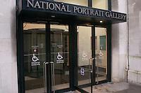 National Portrait Gallery, London.  Wheelchair entrance.