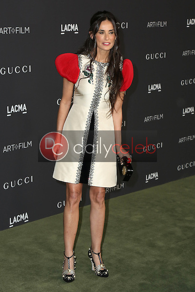 Demi Moore<br /> at the 2016 LACMA Art +  Film Gala, LACMA, Los Angeles, CA 10-29-16<br /> David Edwards/DailyCeleb.com 818-249-4998