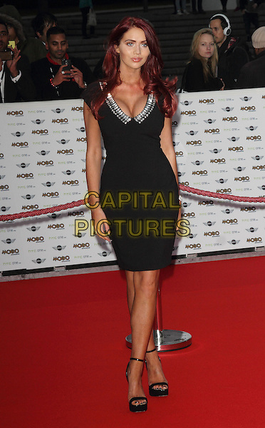 LONDON, ENGLAND - OCTOBER 22: Amy Childs attends the MOBO Awards at SSE Arena on October 22, 2014 in London, England. <br /> CAP/ROS<br /> &copy;Steve Ross/Capital Pictures