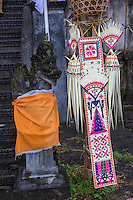Jatiluwih, Bali, Indonesia.  Festival Decorations Representing Sri, the Rice Goddess.
