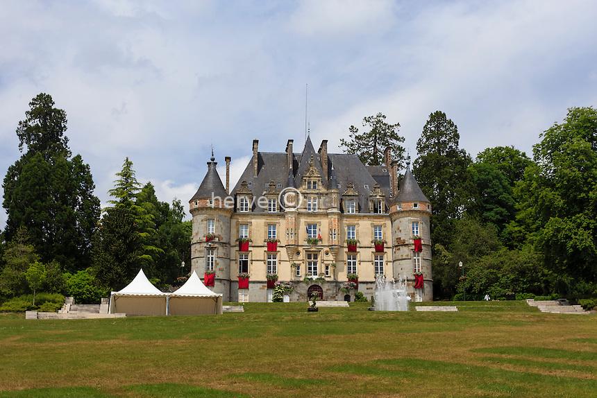 France, Orne (61), Bagnoles-de-l'Orne, Hôtel de Ville, ancien Château Goupil // France, Orne, Bagnoles de l'Orne, City Hall, former Castle Goupil