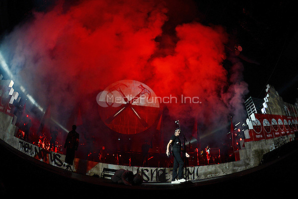 SUNRISE, FL - JUNE 15 : Roger Waters performs The Wall at the BankAtlantic Center on June 15, 2012 in Sunrise Florida. Credit: MediaPunch Inc.