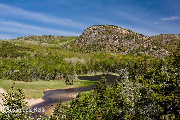 Springtime, the Beehive , Acadia National Park, Downeast, ME