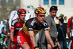 Belgian Champion Philippe Gilbert BMC Racing Team before the start of the 1st Stage of the 2012 Tour of Qatar running from Umm Slal Mohammed to Doha Golf Club, Doha, Qatar, 5th February 2012 (Photo Eoin Clarke/Newsfile)