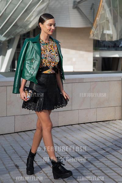 Miranda Kerr attend Louis Vuitton Show Front Row - Paris Fashion Week  2016.<br /> October 7, 2015 Paris, France<br /> Picture: Kristina Afanasyeva / Featureflash