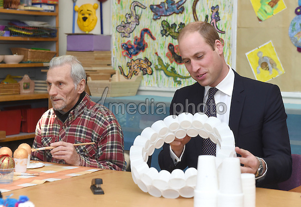30 November 2016 - London, England - Prince William The Duke of Cambridge during a visit to Padley Development Centre in Derby Padley. Photo Credit: Alpha Press/AdMedia
