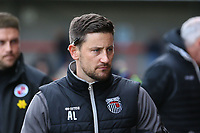 Grimsby Town assistant manger and former Woking manger Anthony Limbrick during Crawley Town vs Grimsby Town, Sky Bet EFL League 2 Football at Broadfield Stadium on 9th March 2019