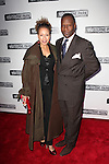Tamara Tunie & husband Gregory Generet.attending the Broadway Opening Night Performance of 'Clybourne Park' at the Walter Kerr Theatre in New York City on 4/19/2012 © Walter McBride/WM Photography .