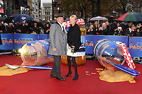 "Hugh Bonneville arriving for the ""Paddington"" world premiere at the Odeon Leicester Square, London. 23/11/2014 Picture by: Steve Vas / Featureflash"