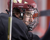 Brett Motherwell - Boston College's morning skate on Saturday, December 31, 2005 at Magness Arena in Denver, Colorado.  Boston College defeated Princeton that night to win the Denver Cup.