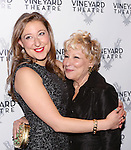 Sophie von Haselberg and mom Bette Midler attends the Off-Broadway opening Night Performance After Party for 'Billy & Ray' at the Vineyard Theatre on October 20, 2014 in New York City.