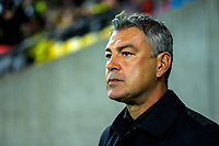 Phoenix head coach Mark Rudan walks out for the A-League football match between Wellington Phoenix and Melbourne City FC at Westpac Stadium in Wellington, New Zealand on Sunday, 21 April 2019. Photo: Dave Lintott / lintottphoto.co.nz