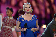 "Washington, DC - May 24, 2014: Singer and actress Megan Hilty performs during a full dress rehearsal for the National Memorial Day Concert May 24, 2014. Hilty released her debut solo album ""It Happens All The Time in 2013. She is also known for her guest-starring roles in numerous television series, including Desperate Housewives, CSI and Bones. (Photo by Don Baxter/Media Images International)"