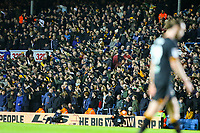 Hull City fans taunt Leeds United fans after the match<br /> <br /> Photographer Alex Dodd/CameraSport<br /> <br /> The EFL Sky Bet Championship - Leeds United v Hull City - Saturday 29th December 2018 - Elland Road - Leeds<br /> <br /> World Copyright © 2018 CameraSport. All rights reserved. 43 Linden Ave. Countesthorpe. Leicester. England. LE8 5PG - Tel: +44 (0) 116 277 4147 - admin@camerasport.com - www.camerasport.com