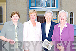 Kathleen Daly, Mary Fleming Currow, Sr Anna Dennehy Kenya and Currow, Mary Daly Currow at the 50th anniversary of the Prince of Peace church in Currow on Tuesday evening   Copyright Kerry's Eye 2008