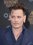 "Johnny Depp attends The Premiere Of Disney's ""Alice Through The Looking Glass"" held at The El Capitan Theatre  in Hollywood, California on May 23,2016                                                                               © 2016 Hollywood Press Agency"