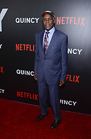 NEW YORK, NY - SEPTEMBER 12: Danny Glover and Wendy Oxenhorn attend the New York Premiere of Netflix&rsquo;s Quincy at The Museum of Modern Art on September 12, 2018 in New York City. <br /> CAP/MPI/RH<br /> &copy;RH/MPI/Capital Pictures