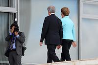 BRASÍLIA, DF, 21.05.2015 - VÁZQUEZ-DF - O presidente do Uruguai Tabará Vázquez durante visita à presidente Dilma Rousseff na manhã desta quinta-feira, 21, no Palácio do Planalto em Brasília. (Foto: Ricardo Botelho / Brazil Photo Press)