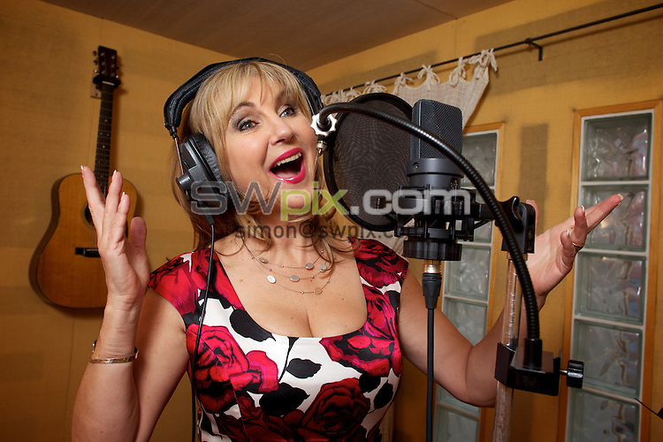 PICTURE BY SHAUN FLANNERY/SWPIX.COM..25th April 2012..Save On Ilkla Moor Baht' At Campaign..Britain's most popular soprano Lesley Garrett records at Sheffield's Steel Works Studios...