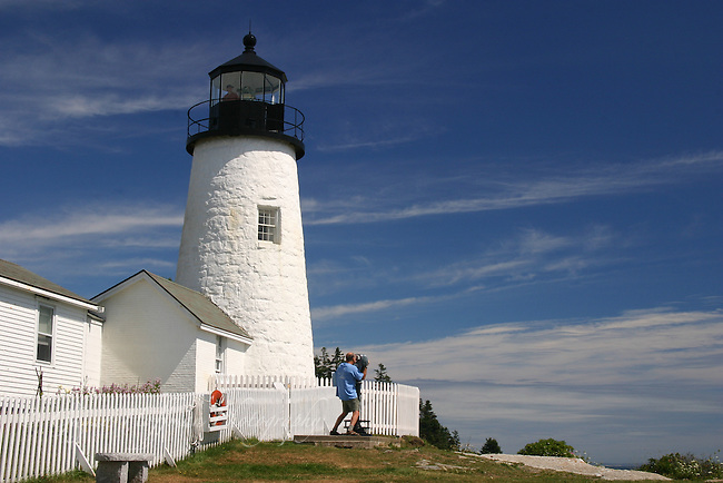 Pemaquid Point Lighthouse, Bristol, Maine