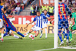 Deportivo Alaves's forward Deyverson Silva during Copa del Rey (King's Cup) Final between Deportivo Alaves and FC Barcelona at Vicente Calderon Stadium in Madrid, May 27, 2017. Spain.<br /> (ALTERPHOTOS/BorjaB.Hojas)
