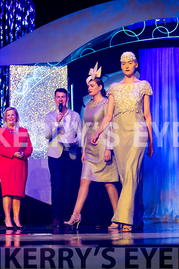 Tina Griffin from Killorglin won fashion designer of the year at the Rose of Tralee Fashion Show.