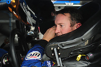 May 1, 2009; Richmond, VA, USA; NASCAR Sprint Cup Series driver Kurt Busch during practice for the Russ Friedman 400 at the Richmond International Raceway. Mandatory Credit: Mark J. Rebilas-