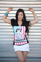 FORT LAUDERDALE FL - AUGUST: 22: ***HIGHER RATES APPLY*** DJ Kat Lane poses for a portrait on August 22, 2016 in Fort Lauderdale, Florida. Credit: mpi04/MediaPunch