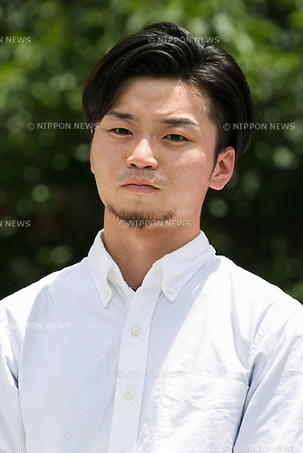 Aki Okuda leader of the Students Emergency Action for Liberal Democracy (SEALDs) attends a campaign event of the Democratic Party candidate Renho outside Nakano Station on July 3, 2016, Tokyo, Japan. Akira Nagatsuma acting president of the main opposition Democratic Party and Okuda came to support Renho's election campaign and called on young voters to participate in July 10th's House of Councillors elections. For the first time young citizens (18 and 19 year-olds) will be allowed to take part in the elections. (Photo by Rodrigo Reyes Marin/AFLO)