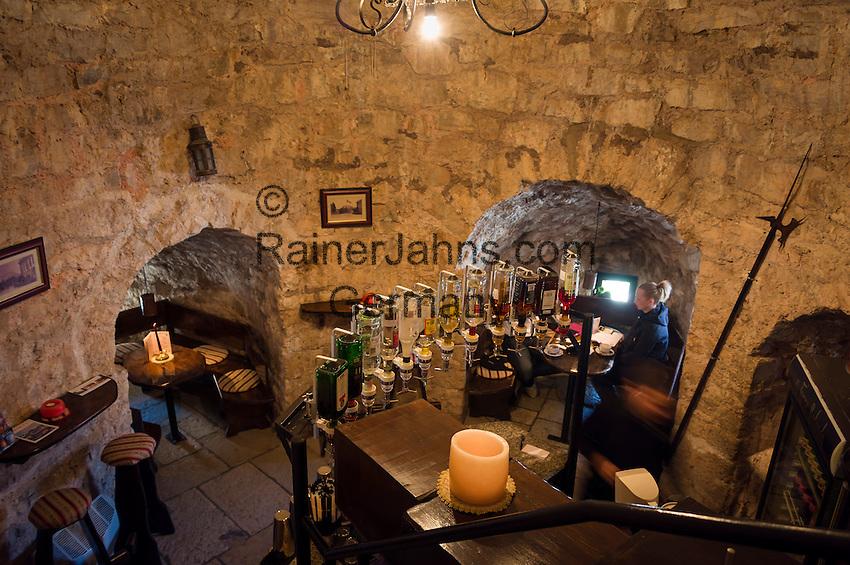 Croatia, Istria, Porec: café Torre Rotonda in old town | Kroatien, Istrien, Porec: Café Torre Rotonda in der Altstadt