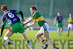 Darran O'Sullivan Kerry v Eamon Leamy Limerick Institute Technology in the Quarter Final of the McGrath Cup at Austin Stack Park, Tralee on Sunday 16th January.