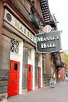 Massey Hall in downtown Toronto.<br />