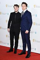 Dean Charles Chapman and George Mackay<br /> BAFTA Film Awards 2020 nominees party, Kensington Palace, London.<br /> <br /> ©Ash Knotek  D3553 01/02/2020