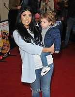 "Cara De La Hoyde and her son Freddie-George at the ""Where Is Peter Rabbit?"" musical press night, Theatre Royal Haymarket, Suffolk Street, London, England, UK, on Tuesday 09th April 2019.<br /> CAP/CAN<br /> ©CAN/Capital Pictures"