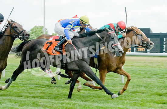 Hasay winning at Delaware Park on 7/11/12