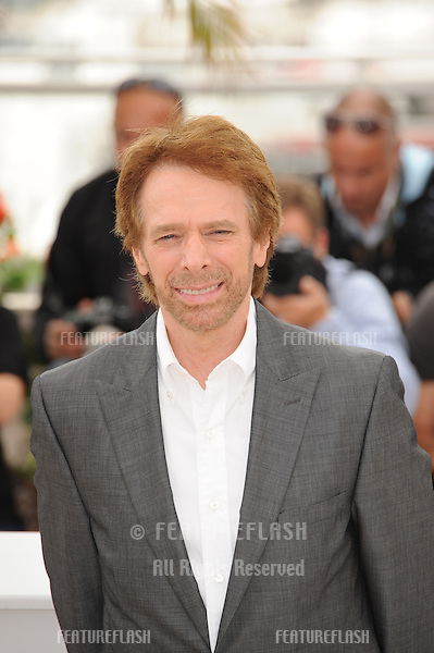 "Jerry Bruckheimer at the photocall for his movie ""Pirates of the Caribbean: On Stranger Tides"" at the 64th Festival de Cannes..May 14, 2011  Cannes, France.Picture: Paul Smith / Featureflash"