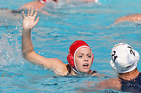 17 February 2008: Kira Hillman during Stanford's 10-5 win over UC Davis at the Avery Aquatic Center in Stanford, CA.