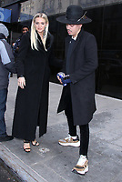 JAN 07 Ashlee Simpson and  Evan Ross at Good Day NY