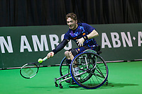 Rotterdam, The Netherlands, 14 Februari 2019, ABNAMRO World Tennis Tournament, Ahoy, Wheelchair, Half Final, Alfie Hewett (GBR),<br /> Photo: www.tennisimages.com/Henk Koster