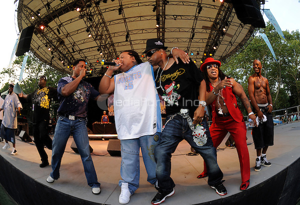The Sugar Hill Gang performing live at the Video Music Box 25th Anniversary Concert at Central Park Summerstage in New York City on July 18, 2008. © David Atlas / MediaPunch