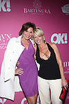 RHONY's LuAnn and Dorinda Medley Attends OK! Magazine's Annual 'SO SEXY' event in New York, toasting the City's sexiest celebrities of 2015 and NY's most-glamorous at HAUS Nightclub.