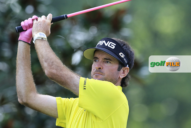 Bubba Watson (USA) tees off the 15th tee during Thursday's Round 1 of the 2017 PGA Championship held at Quail Hollow Golf Club, Charlotte, North Carolina, USA. 10th August 2017.<br /> Picture: Eoin Clarke | Golffile<br /> <br /> <br /> All photos usage must carry mandatory copyright credit (&copy; Golffile | Eoin Clarke)
