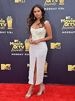 Alisha Boe at the 2018 MTV Movie &amp; TV Awards at the Barker Hanger, Santa Monica, USA 16 June 2018<br /> Picture: Paul Smith/Featureflash/SilverHub 0208 004 5359 sales@silverhubmedia.com