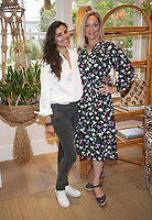 PACIFIC PALISADES, CA -June 28: Gabriella Wright, Elisabeth Rohm, at Elisabeth Rohm ihosts a RESPECT TALK on How To Cultivate More Bliss in Today's World at Veronica Beard in Pacific Palisades California on June 28, 2020. Credit: Faye Sadou/MediaPunch