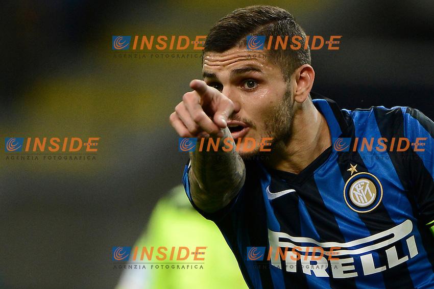 Mauro Icardi Inter<br /> Milano 23-04-2016 Stadio Giuseppe Meazza - Football Calcio Serie A Inter - Udinese. Foto Giuseppe Celeste / Insidefoto