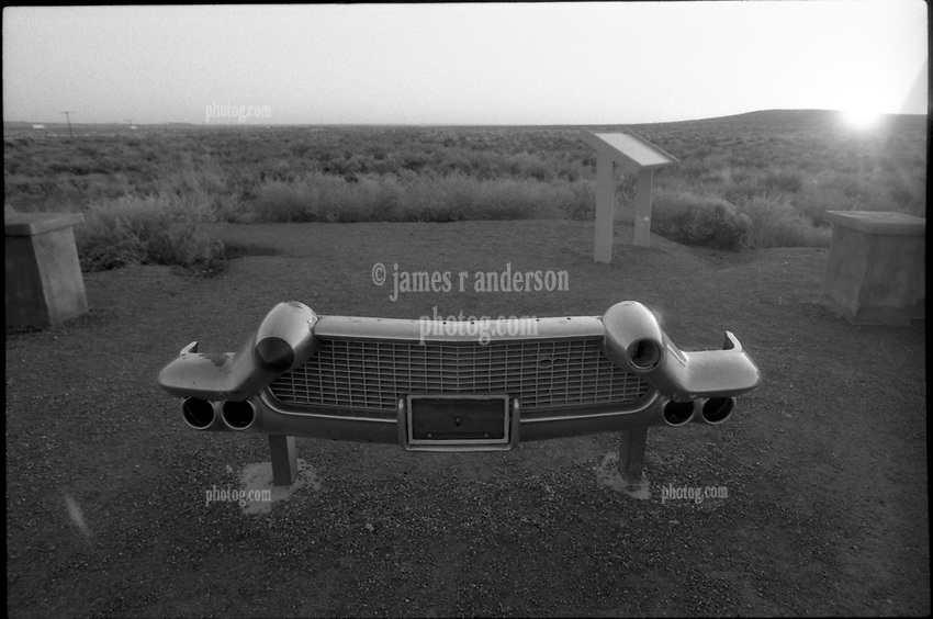 ... on the Old Route US Route 66. Ilford FP4 B&W Film Scan